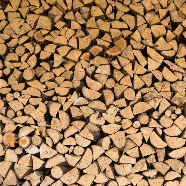 Brennholz zum Smoken Kirsche 33 cm,  trocken, 1 Ster